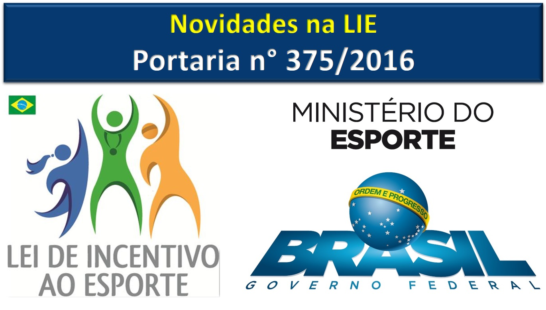 Nova Portaria traz mudanças na Lei de Incentivo ao Esporte - Incentive  Projetos Treinamento Profissional